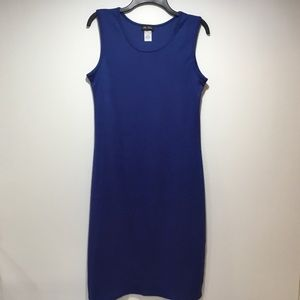 Star Vixen Royal Blue Maxi Sleeveless Dress Size L